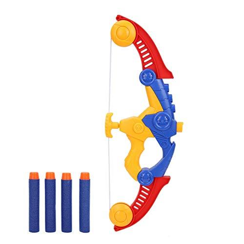 Deror Arco de Tiro con Arco para niños, Juego de Juguete de Flecha de Arco de Tiro con Arco Suave para niños, Juego de Tiro al Aire Libre para niños (16.3x10.2x1.8in)