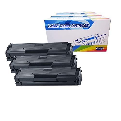 Inktoneram Compatible Toner Cartridges Replacement for Samsung D111S MLT-D111S Xpress M2071 M2070W M2071W M2070F M2071FH M2070FW M2071FH M2022 M2022W M2020 M2021 M2020W M2021W M2070 (Black, 3-Pack)