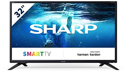"Televisor Sharp Aquos 32BC2E 81,3 cm (32"") HD Smart TV WiFi"