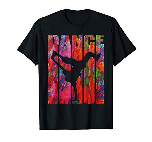 Breakdance Hip Hop Dance Shirt Fun Graffiti Art Breakdance Maglietta