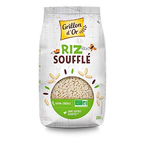 GRILLON D'OR - Céréales Riz Complet Soufflé 200G