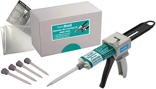 AQUABOND Underwater Pool Repair Epoxy Kit for Swimming Pools and Spas - DMK-5000 50ml Kit (White)