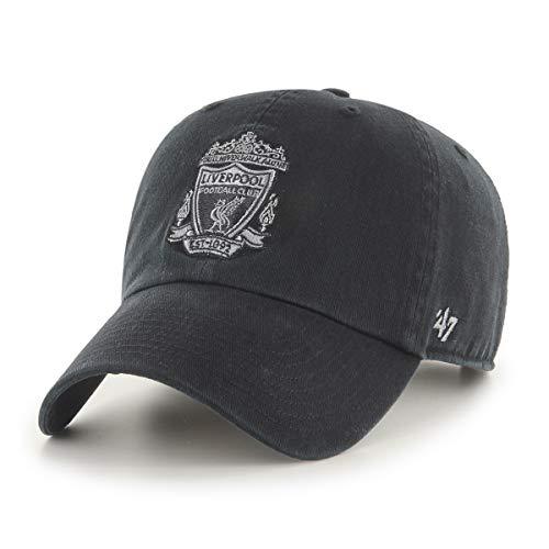 '47 Brand FC Liverpool Basecap Cap Kappe schwarz Premier League England clean up You'll Never Walk Alone