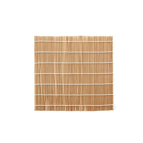 PPuujia Kit de fabricación de sushi para cocina DIY sushi Rolling Maker Bamboo Sushi Roller Blind Algas Nori Sushi cortina molde herramienta 33,5 x 33,5 cm / 33,5 x 45 cm (color negro)