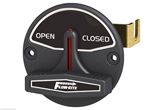 Open/Closed, for Use with 2-Position Valve, Black/White -  Flow Rite, 3004.2600