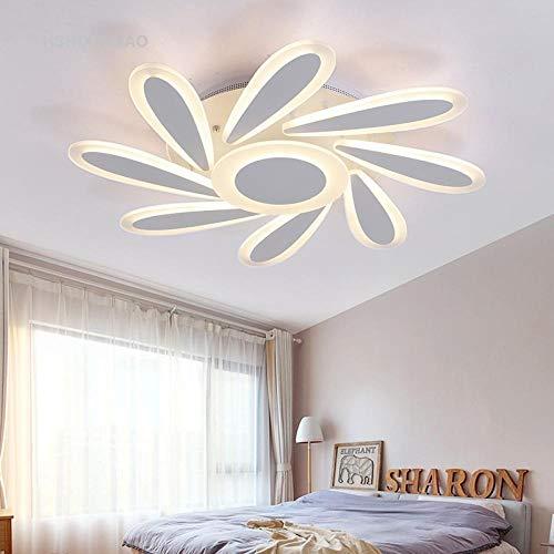 LED-plafondverlichting van acryl in de vorm van een bloem voor slaapkamer eenvoudige woonkamer rond hotel villa plafondlamp