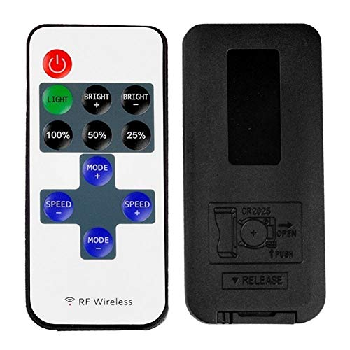 12V Mini frecuencia de radio de control remoto 11 5V llave USB infrarrojo controlador remoto dimmer interruptor de centelleo respiratoria (Color : Dc)