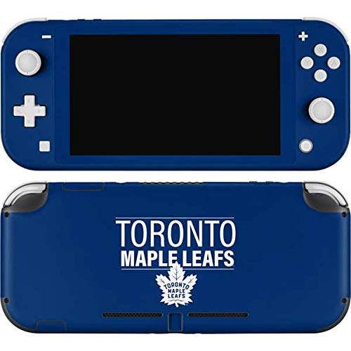Skinit Decal Gaming Skin Compatible with Nintendo Switch Lite - Officially Licensed NHL Toronto Maple Leafs Lineup Design