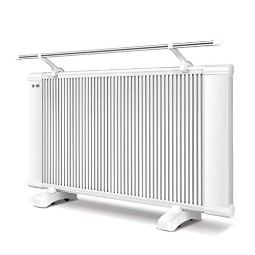 Radiator | elektrische convectieverwarming | verstelbaar 2 warmtestanden | thermostaat | wandmontage of vrij | radiator zonder olie