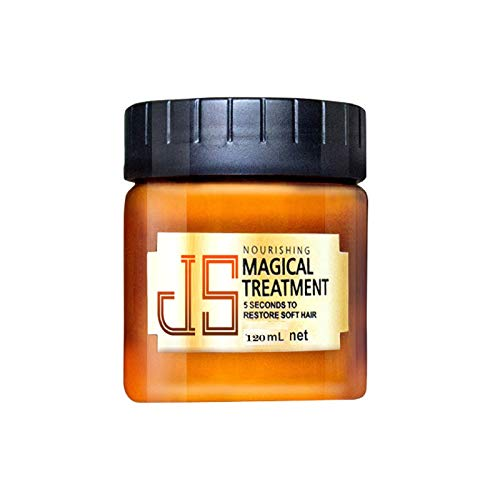 Jun® Magical Keratin Hair Treatment Cream, 5 Seconds Repairs Damage Hair Root Hair Tonic Keratin Hair & Scalp Treatment Supplies Ideal for Girls & Women (1)