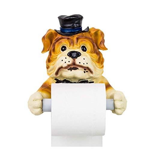Mano de obra única, esencial para el hogar Caja de pañuelos topes de papel higiénico para higiénico de baño soporte de papel higiénico soporte de toalla de mano rodillo impermeable y de humedad.