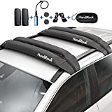 HandiRack Universal Inflatable Soft Roof Rack Bars (Pair); Lashing Straps and Bow and Stern Tie Downs Included; Carries Kayaks, Canoes, Surfboards and SUPs