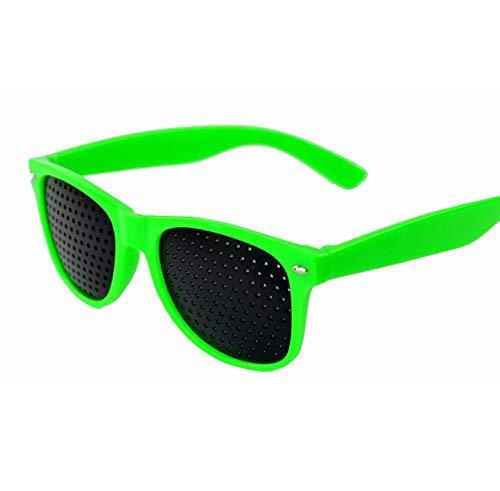 kriohq Gafas de Aguja Caliente Gafas Anti - Fatiga Gafas Anti - miopía 绿色