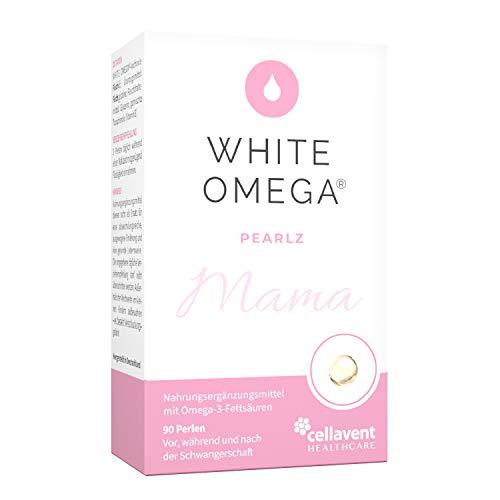 Omega-3-Kapseln für Mamas – geschmacksneutral - DHA (276mg) und EPA (173mg) – extra kleine Perlen – 90 Stk.