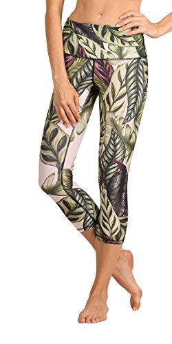 Yoga Democracy Eco-Friendly Leaf it to me Leggings (Crops) (M)