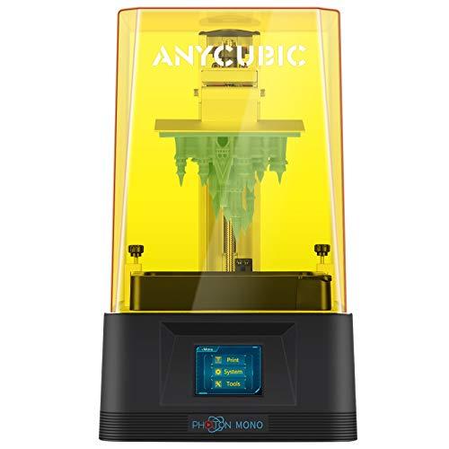 ANYCUBIC Photon Mono 3D Printer, UV LCD Resin 3D Printer Fast Printing with 6.08'' 2K Monochrome...