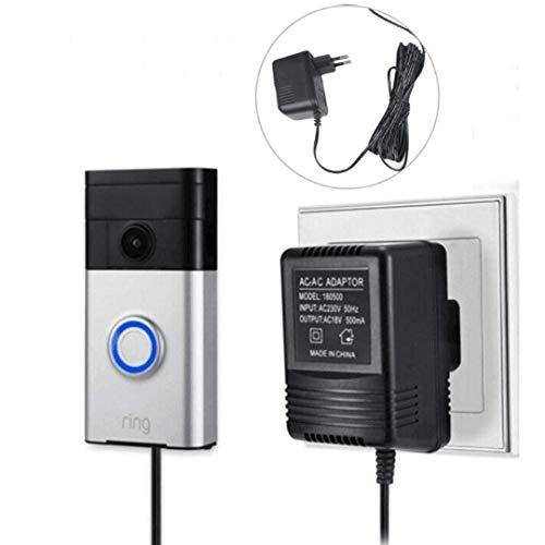 Netzteil Adapter und 5M Kabel Netzadapter Smart Home Zubehör kompatibel für Door Bell Video Türklingel 2 Pro