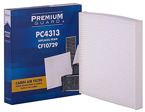 PG Cabin Air Filter PC4313 | Fits 2011-14 Chrysler 200, 2007-10 Sebring, 2008-14 Dodge Avenger, 2007-12 Caliber, 2009-18 Journey, 2007-18 Jeep Compass, 2007-17 Patriot, 2015 Ram 1500