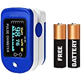 Dr Vaku Pulse Oximeter Fingertip | Pulse Oximeter for Doctors/Personal Use | Highest Accuracy Blood Oxygen Level SpO2 Monitor