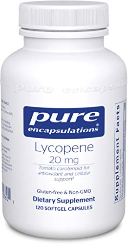 Pure Encapsulations - Lycopene 20 mg - Dietary Supplement for Prostate, Cellular and Macular Support - 120 Softgel Capsules