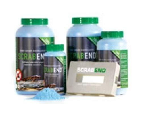 SCRABEND gegen Kakerlaken - Schädlingsbekämpfungsmittel zur Selbstanwendung (450g inkl. 12 Köderboxen)