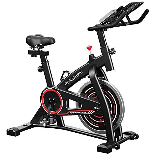 Indoor Cycling Bike Home Exercise Indoor Bike Stationary Home Gym GOFLYSHINE Exercise Bikes Stationary