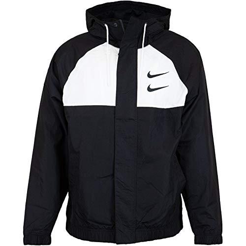 Nike Swoosh Jacket Jacke (L, Black)