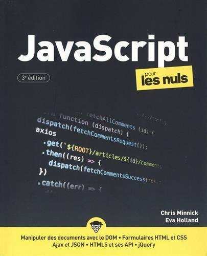 JavaScript pour les Nuls, grand format, 3e éd