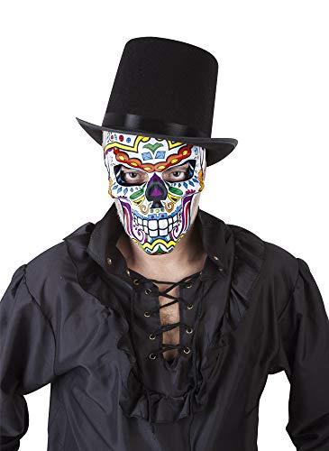 Rubies- Mascara Katrin Skull, Multicolor, Talla única (S3190)