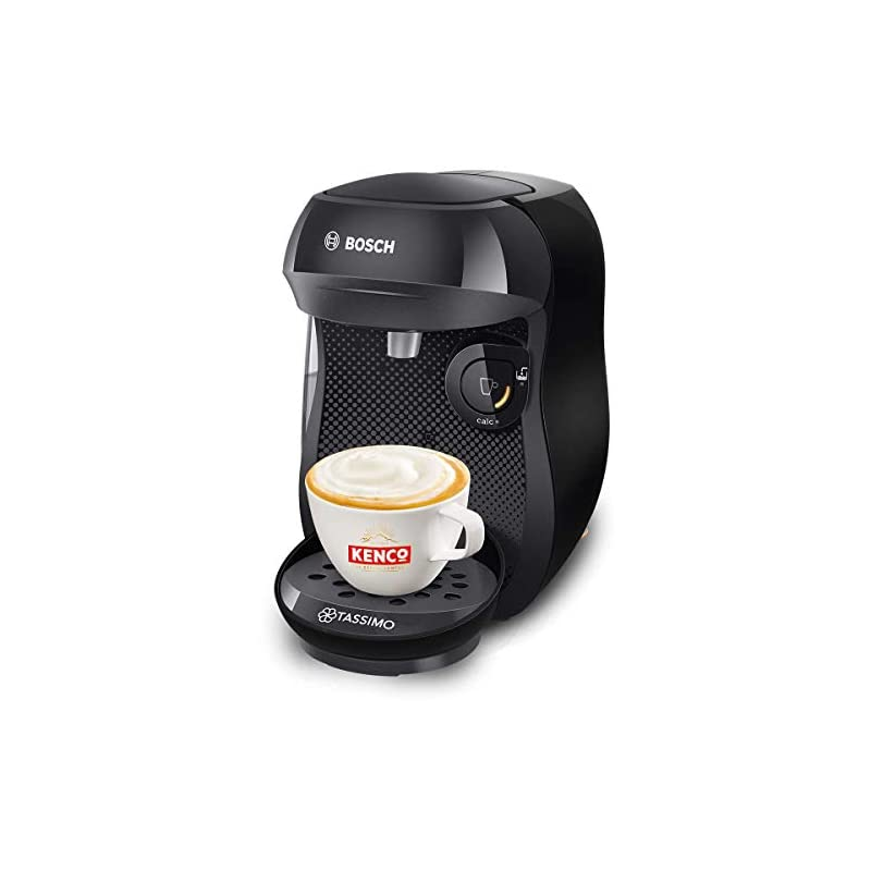 TASSIMO Bosch Happy TAS1002GB Coffee Machine 1400 Watt, 0.7 Litre – Black