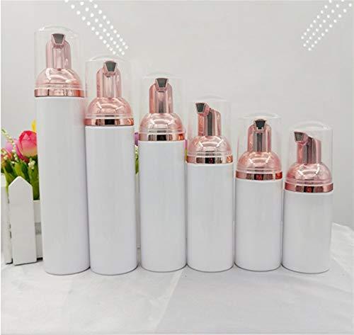FIRMLEILEI 10 stks Plastic Foamer Pomp Fles Hervulbare Lege Cosmetische Fles Cleanser Zeep Dispenser Schuim Container 30/50/60/70/80/100ml Container fles (specificaties: 50 ml)