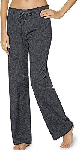 Best women's sweatpants - Champion Women's Jersey Pant, Granite Heather, Large