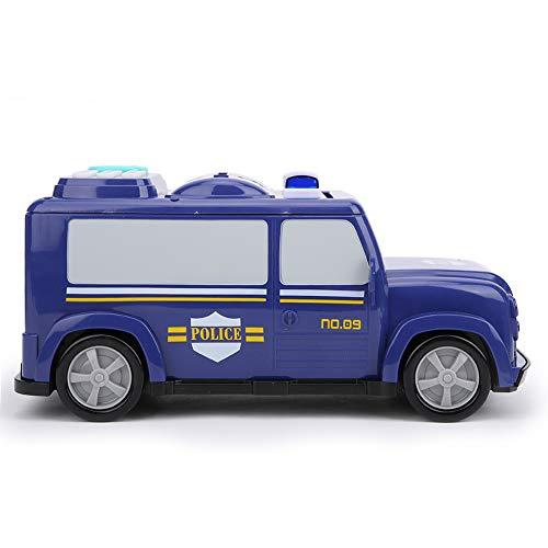 ROMACK Caja de Dinero para Camiones, Hucha electrónica, luz Colorida y Efecto de Sonido, desbloqueo de Huellas Dactilares para Ahorrar Dinero