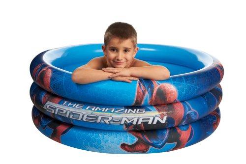 Giochi Preziosi, Spiderman, Piscina Gonfiabile 3 Tubi, 100x50 cm