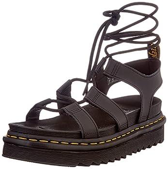Dr Martens Women s Gladiator with Ankle-tie Sandal Black 8