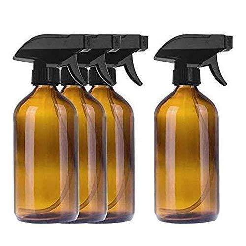 Chytaii 4 botellas de spray de cristal vacías de 500 ml, atomizadoras...
