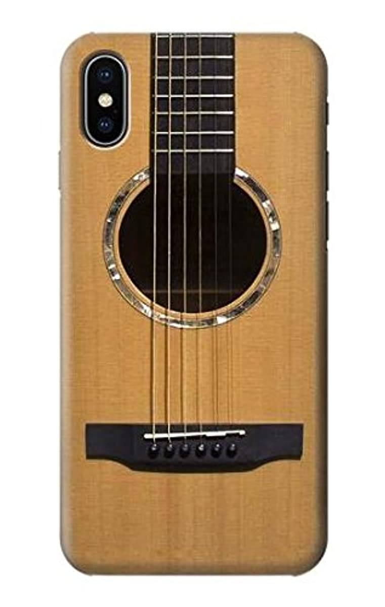 R0057 Acoustic Guitar Case Cover for iPhone X