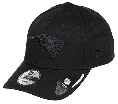 New Era New England Patriots 9forty Adjustable Cap Bob Edition Black/Black - One-Size