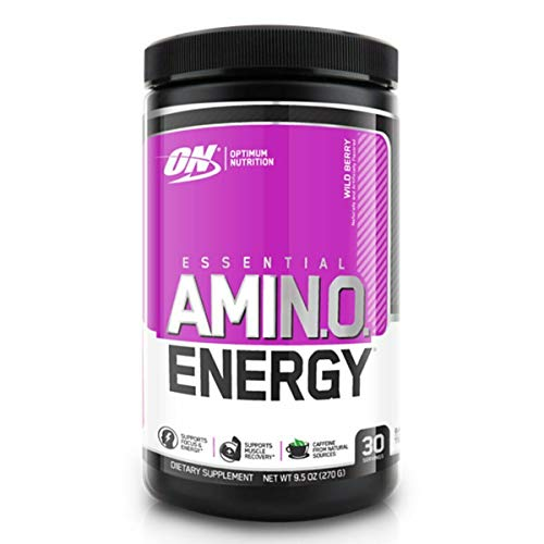 Optimum Nutrition Amino Energy Exclusive Flavours 30 Servings Wild Berry, 270 g