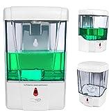 ConpConp - Dispensador de jabón automático (700 ml) sin contacto (con sensor de infrarrojos) y alimentado con pilas. Para cocina y baño