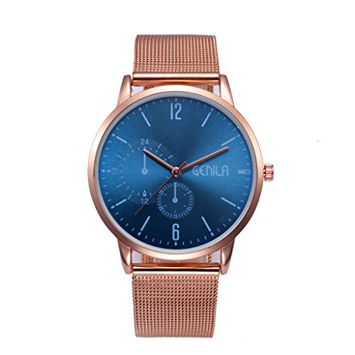 Great Deal! Muranba High-End Simple Fashion Men's Watch Classic Quartz Stainless Steel Watch
