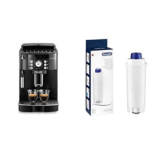 De'Longhi Magnifica S ECAM21.110.B Macchina da Caffè Automatica per Espresso e Cappuccino & DLSC002 Filtro per Acqua Macchina Caffè, Filtro Acqua Addolcitore