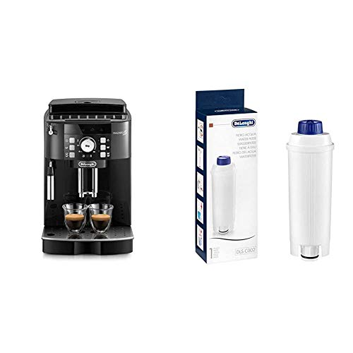De'Longhi Magnifica S ECAM21.110.B Macchina da Caffè Automatica per Espresso e Cappuccino & DLSC002...