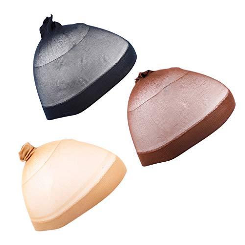 perfeclan 3pcs Faisant La Perruque Faisant Le Tissage De Dôme De Chapeau De Filet