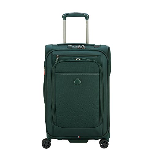 Delsey Paris Pilot 4.0 Exp. Spinner Carry-On (Emerald Green)