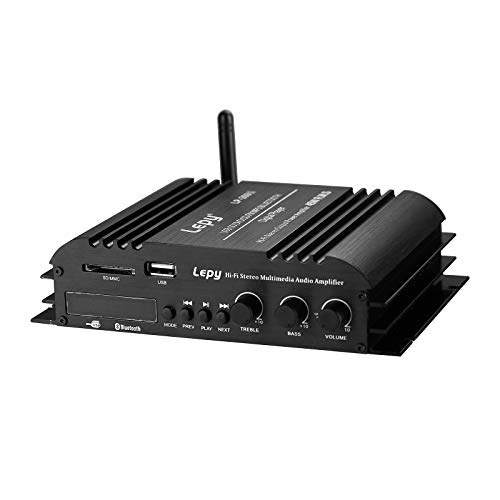 Nobsound Lepy Hi-Fi Stereo Multimedia 4-Channel 180w (45W x 4) Bluetooth Power Amplifier Audio Amp Booster