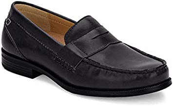 Dockers Mens Colleague Dress Penny Loafer Shoe, Black, 8.5 M