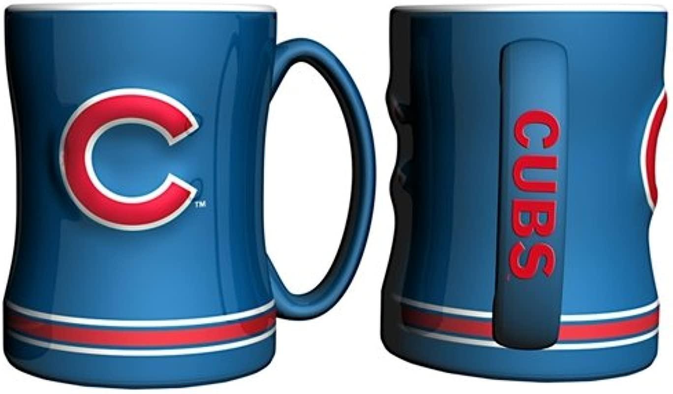 Chicago Cubs Coffee Mug 15oz Sculpted