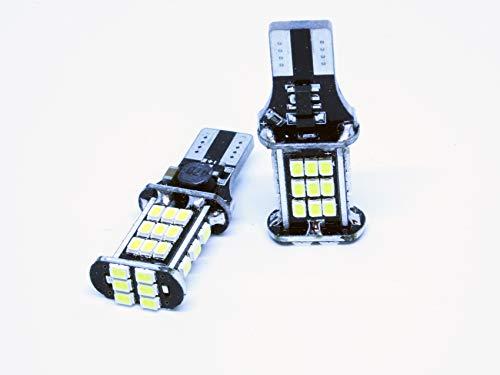 LEDPremium 2X Bombillas LED T15 W16W Megane IV 4 Luces Marcha ATRAS CANBUS 6000ºK
