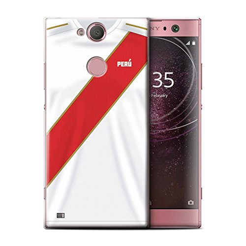 Stuff4® ® Phone Case/Cover/Skin/SXP de CC/World Cup 2018 Football Camiseta Collection Peru/Peruaner Sony Xperia XA2 2018